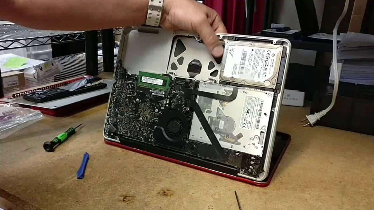 Macbook pro hard drive wont repair